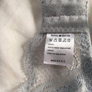 50ac60a84c166 Brandy Melville Intimates   Sleepwear - Brandy Lace floral Verona bralette
